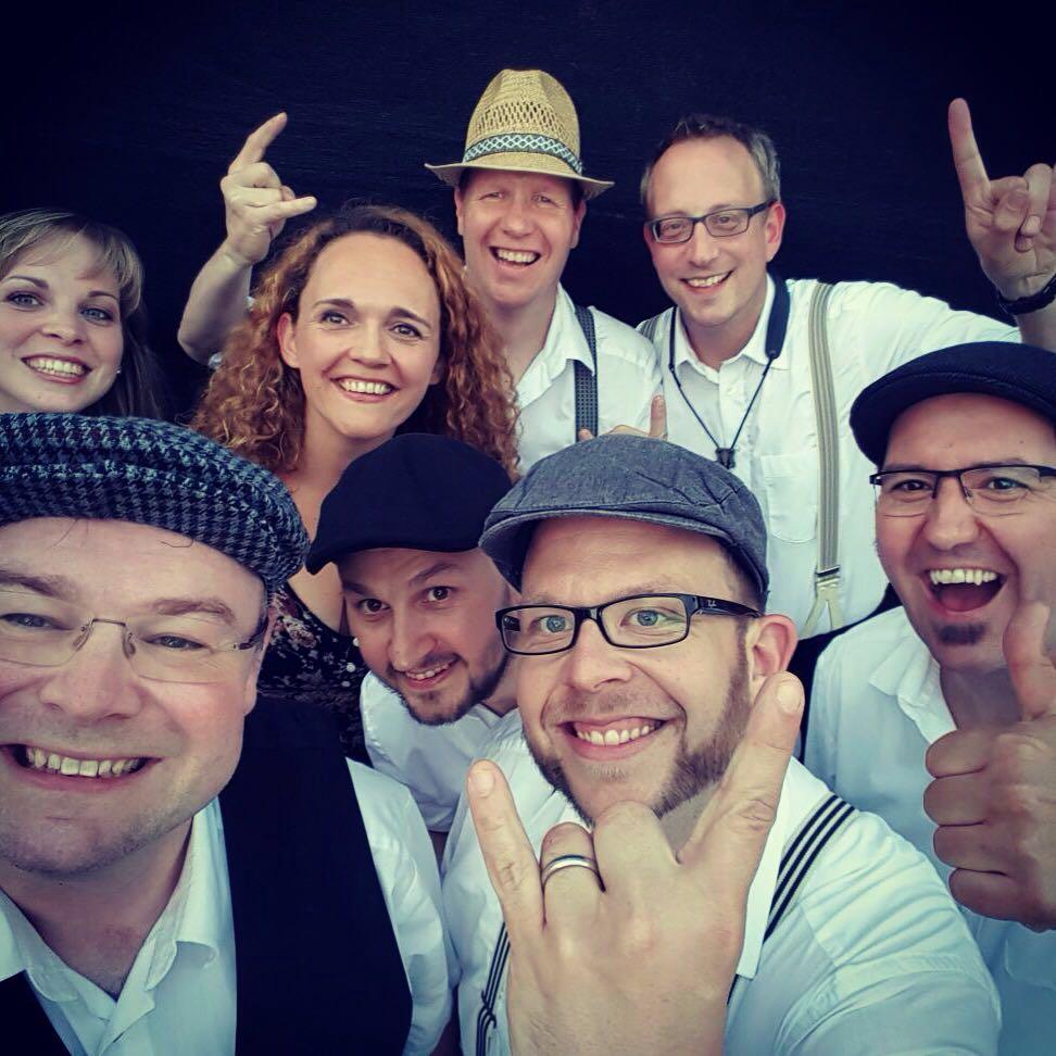Wunderschöner Selfie vor dem Auftritt in Schwäbisch Hall